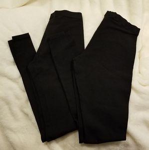 Victoria's Secret Sport Black Cotton Leggings XS